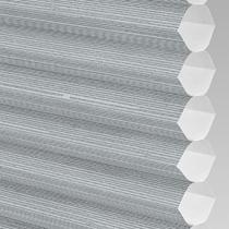 VALE Flat Roof Honeycomb Translucent Blind | PX78003-Hive Silkweave Raven