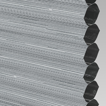 VALE Blackout Honeycomb Blind | PX78503-Hive Silkweave Raven