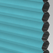 VALE INTU Cellular/Pleated Blackout Blind | PX72011-Hive Teal
