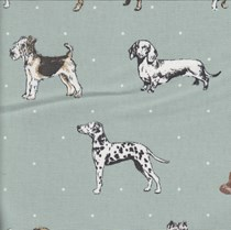 VALE Roman Blind - Creative Collection | Kennel Club Duckegg