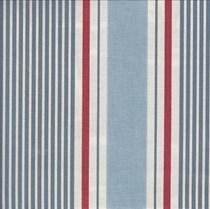 VALE Roman Blind - Creative Collection | Nautical Stripe Marine
