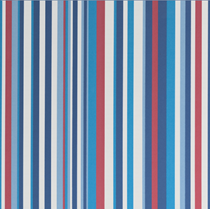 VALE Battery Operated Remote Blackout Blind | RE9477-Funky Stripe Sky
