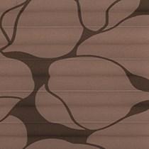 Genuine Roto Pleated Blind (ZFA-M)   3-F56-Brown Tendrils