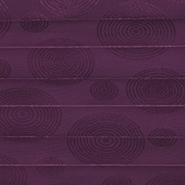 Genuine Roto Pleated Blind (ZFA-M)   3-F57-Lilac Rings