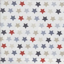 VALE Roman Blind - Creative Collection | Stars Blue