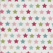 VALE Roman Blind - Creative Collection | Stars Pink