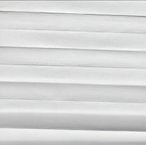 VALE Flat Roof 25mm Duette Blind | Unix - Swan 0201