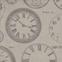 VALE Roman Blind - Creative Collection | Time Charcoal