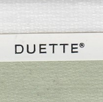 VALE 25mm Unix Duo Tone Translucent Duette Blind | Wild Jungle 3735